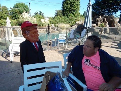 Brad Grunberg, The GetDismissed Man – Halloween Donald Trump – October 20, 2015