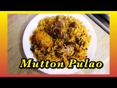 Mutton Pulao By Noor Cuisine