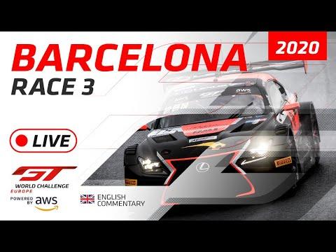 2020年 ブランパンGTシリーズ(バルセロナ)レース3ライブ配信動画