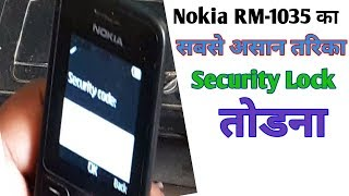 how to unlock nokia 130 security code - Video hài mới full hd hay