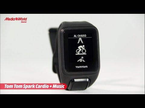 TomTom Spark Cardio + Music, orologio GPS per fitness - ITA -