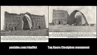 Taq Kasra Ctesiphon monument – nagranie w j.rosyjskim