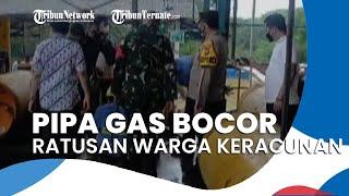 Pipa Gas Bocor Sebabkan Ratusan Warga Keracunan, Polisi Tutup Pabrik karena Peristiwa Terus Berulang