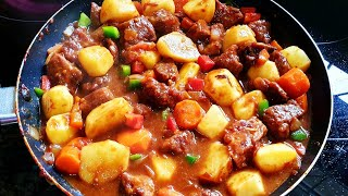 The Best Beef Stew Recipe/Easy Beef Stew/How To Cook Stew Beef/Beef Stew Recipe South Africa