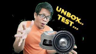 "JBL 12"" GTO1204D SUBWOOFER UNBOXING &TESTING"