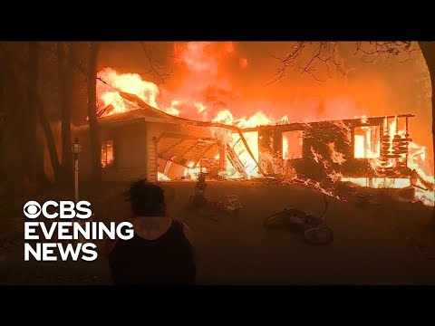 "Fire Official In Northern California Says ""everything Is Destroyed"""