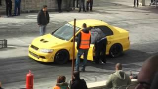 preview picture of video 'Konya Drag Mitsubishi Evo 9.7XX  2.11.2014'