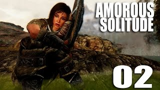 Amorous SOLITUDE 02 - Underwater love (cinematic skyrim gameplay)