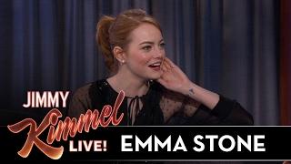 <b>Emma Stone</b> On Awkward Golden Globes Moment