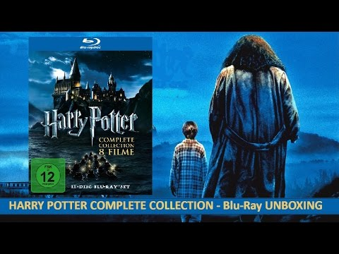 Harry Potter - Complete Collection (Blu-Ray) UNBOXING