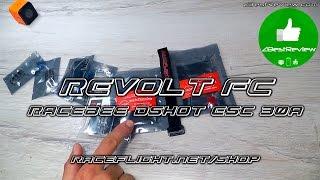 ✔ Продвинутый Полетный контроллер Revolt FC + RaceBee Dshot ESC 30A. Raceflight.net