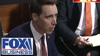 'It's time to take action': Sen Hawley sounds off on tech CEOs