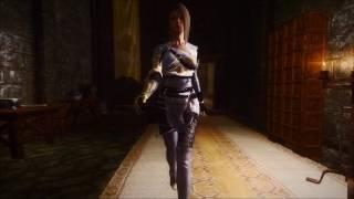 Одежда Dark Knight из игры Black Desert для Skyrim (v 1.4) Часть 4