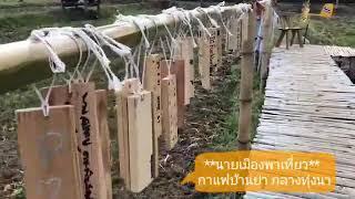 preview picture of video 'กาแฟบ้านย่า กลางทุ่งนา'