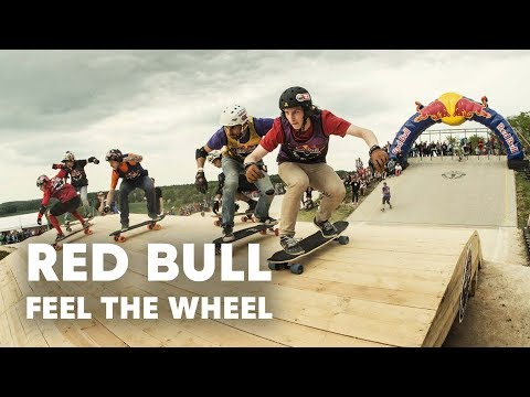 Skateboarding Meets Four-Cross Racing - Red Bull Feel the Wheel