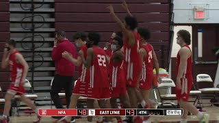 Highlights: NFA 48, East Lyme 43 in the ECC South boys' basketball final