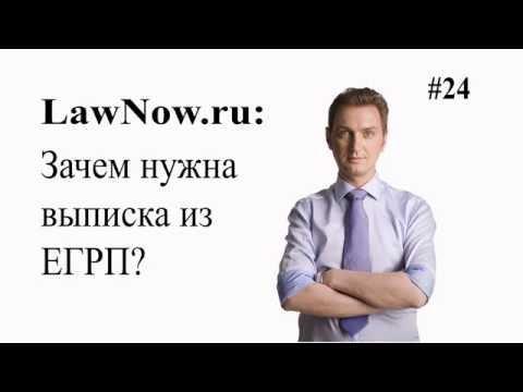 LawNow.ru: Зачем нужна выписка ЕГРП? #24