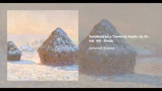 Variations on a Theme by Haydn, Op. 56b (2 pianos ver.)