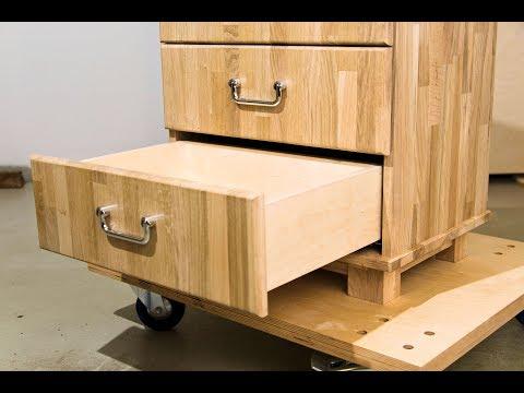 Schrank selber bauen mit Schublade Möbel selber bauen Schubladen auszug von Hettich quadro DIY Holz