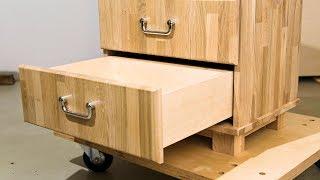schubladen selber bauen m bel selber bauen diy schubladenschrank mit schublade. Black Bedroom Furniture Sets. Home Design Ideas