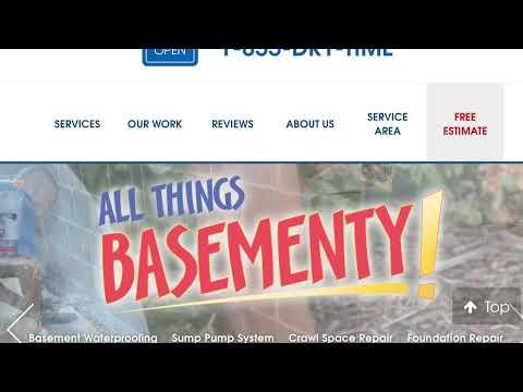 Basement Waterproofing & New Floor in South Royalton, Vermont, by Matt Clark's Northern Basement Systems.
