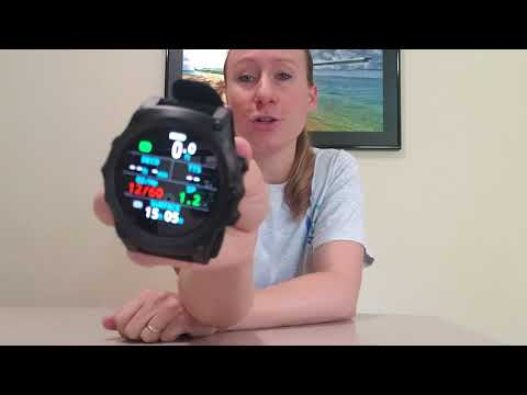 Shearwater Teric dive watch / computer  Unboxing video