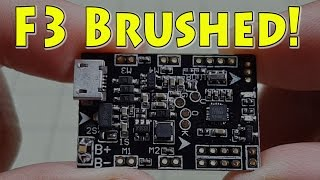 F3 Brushed Flight Controller Review