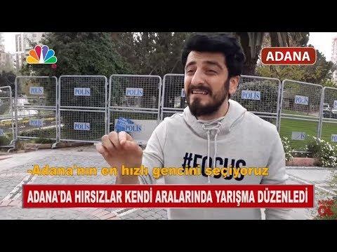 Adana'da Hırsızlar Kendi Aralarında Yarışma Düzenledi - Röportaj Adam