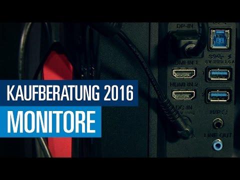 Alles über Monitore - PCGH Kaufberatung (Folge 8)