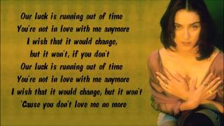 Madonna - Till Death Do Us Part Karaoke / Instrumental with lyrics on screen