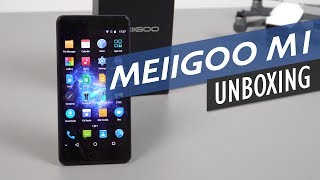 Meiigoo M1 Unboxing Hands-On -  Helio P20 6GB Mobile With Dual Cameras