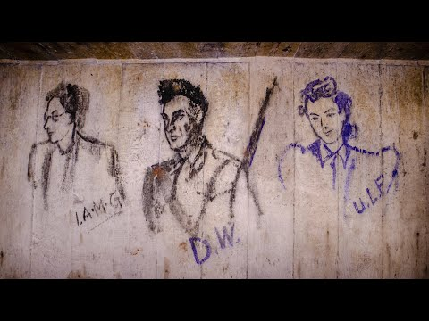 Lost Drawings from WW2! Abandoned Air Raid Shelter Beneath Huge Facility - URBEX UK