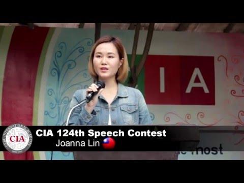 (English School in Cebu, Philippines ) Cebu International Academy- 124th Speech Contest (Joanna Lin)