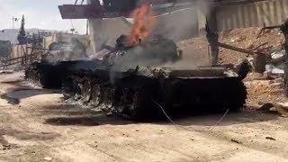 Боевики уничтожили технику, чтобы избежать обвинений в предательстве