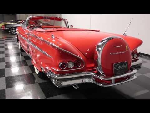 Video of '58 Impala - $106,995.00 Offered by Streetside Classics - Atlanta - EVGO