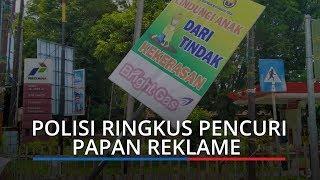 Jajaran Polsek Padang Barat Ringkus Terduga Pelaku Pencuri Baliho Milik Polisi
