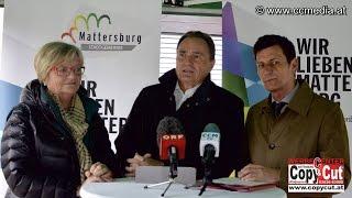 preview picture of video '8. 4. 2015 - PK der SPÖ - KUZ Mattersburg - CCM-TV.at'