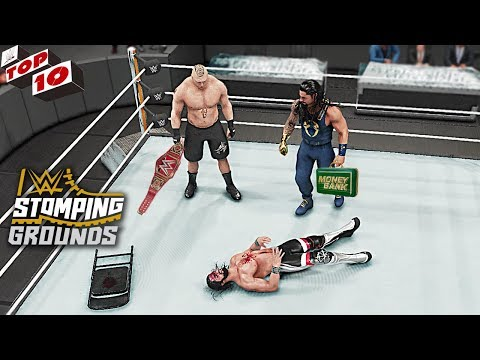 WWE Top 10 Stomping Grounds 2019 Predictions! (WWE 2K19)