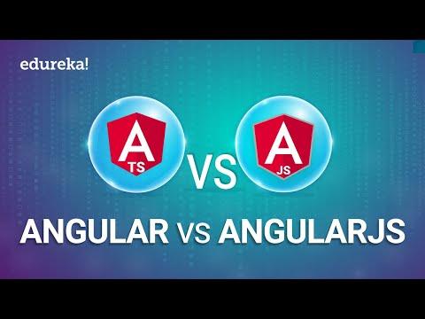 Angular vs AngularJS | Difference between Angular vs AngularJS | Angular Training | Edureka
