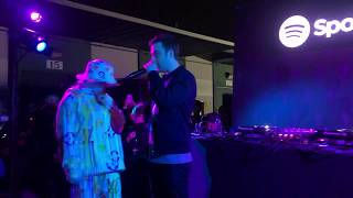 Billie Eilish Sings Her Mom Happy Birthday At #BillieEilishExperience Album Release Party W Spotify