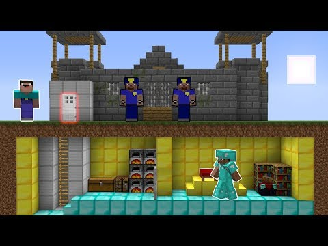 Download Minecraft Noob Vs Pro Secret Base In Minecraft Video 3GP