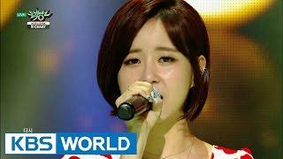 Eun Ga Eun (은가은) - Never Say Goodbye [Music Bank K-Chart / 2015.08.14]