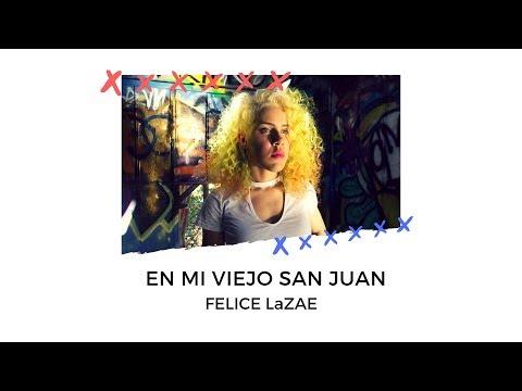 "Felice singing ""En Mi Viejo San Juan"" as part of a fundraiser to help Puerto Rico after Hurrican Maria."