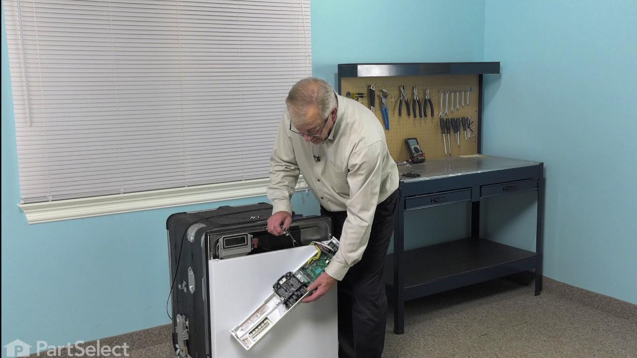 Replacing your Kenmore Dishwasher Door Switch