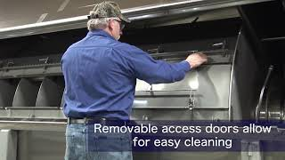 Lyco Rotary Drum CIP Cleaning Enhancements