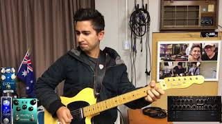 Alan Jackson - Up to My Ears in Tears (Brent Mason Guitar Solo Cover by Luke Gallagher)