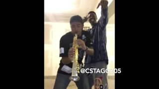 """""""Jugg"""" by Fetty Wap  Monty on Soprano Sax ft JJ the Hype man!"""