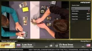 World Championship 2014 Round 6 (Modern): Paulo Vitor Damo da Rosa vs. Owen Turtenwald