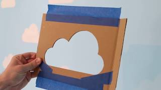 DIY Cloud Stencil