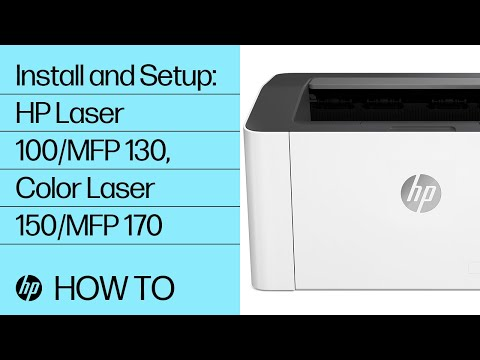 video huong dan cai dat drivers may in laser mau hp color laser 150nw 4zb95a